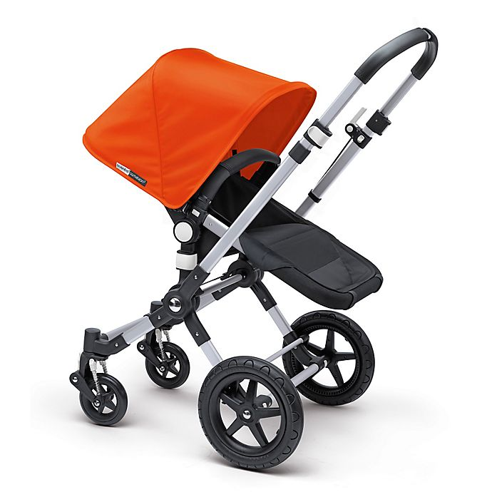 Alternate image 1 for Bugaboo Cameleon3 Base Stroller in Aluminum/Black