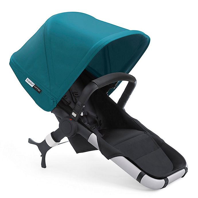 Alternate image 1 for Bugaboo Runner Seat 2016 in Black/Petrol Blue
