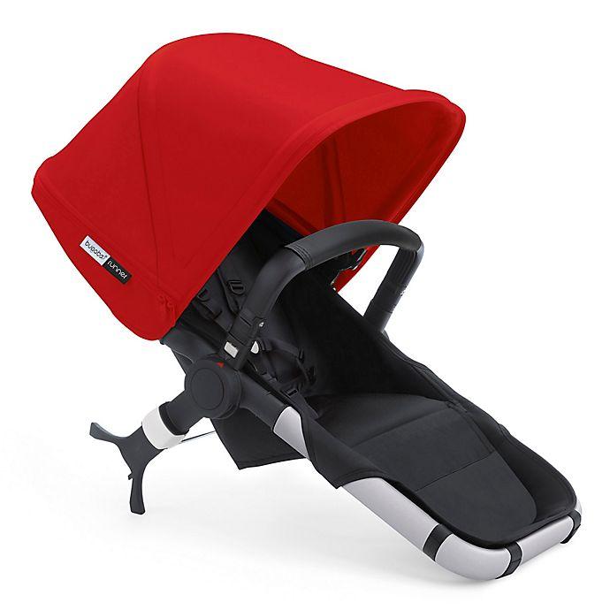 Alternate image 1 for Bugaboo Runner Seat 2016 in Black/Red