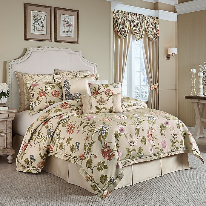 Matching Bedroom And Bathroom Sets: Croscill® Daphne Comforter Set