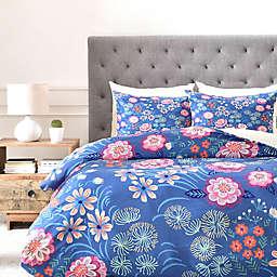 Deny Designs Pimlada Phuapradit Floral Gems Duvet Cover