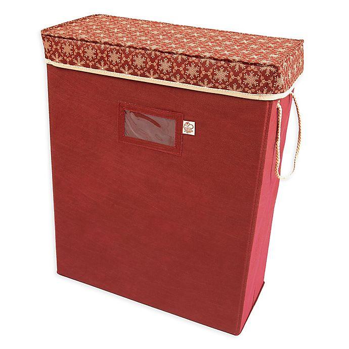 Alternate image 1 for TreeKeeper® Santa's Bags Snowflake Gift Bag and Tissue Storage Box