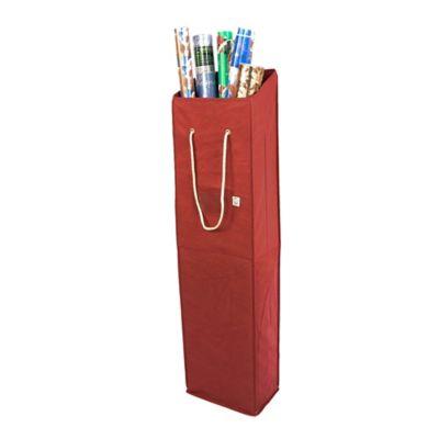 TreeKeeper® Santau0027s Bags Snowflake Wrapping Paper Storage Box   Bed Bath U0026  Beyond