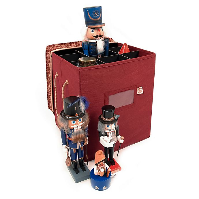 Alternate image 1 for TreeKeeper® Santa's Bags Christmas Collectibles Snowflake Storage Box