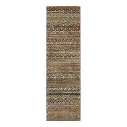 Couristan® Easton Capella 2-Foot 7-Inch x 7-Foot 10-Inch Rug in Brown