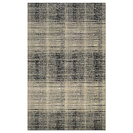 Couristan® Easton Suffolk Rug in Black/Grey