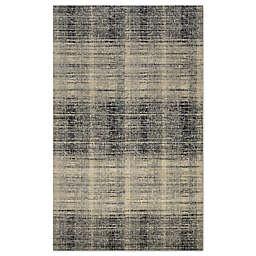 Couristan® Easton Suffolk Rug in Black/Grey