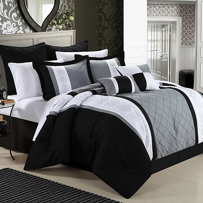 Chic Home Bryce 8 Piece Comforter Set Bed Bath Beyond