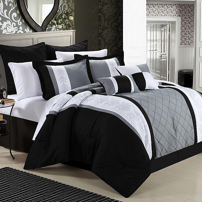 Chic Home Bryce 8 Piece Comforter Set Bed Bath Beyond