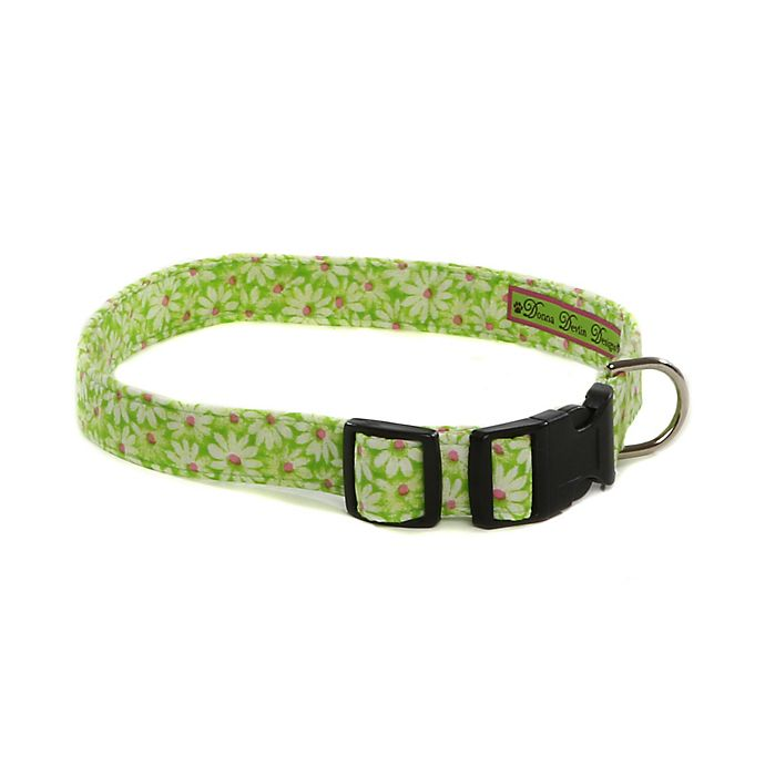 Alternate image 1 for Donna Devlin Designs® Daisy Do II Small Dog Adjustable Dog Collar