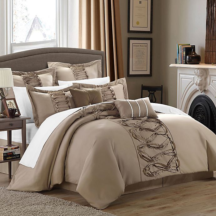Chic Home Rossana 8 Piece Comforter Set Bed Bath Beyond