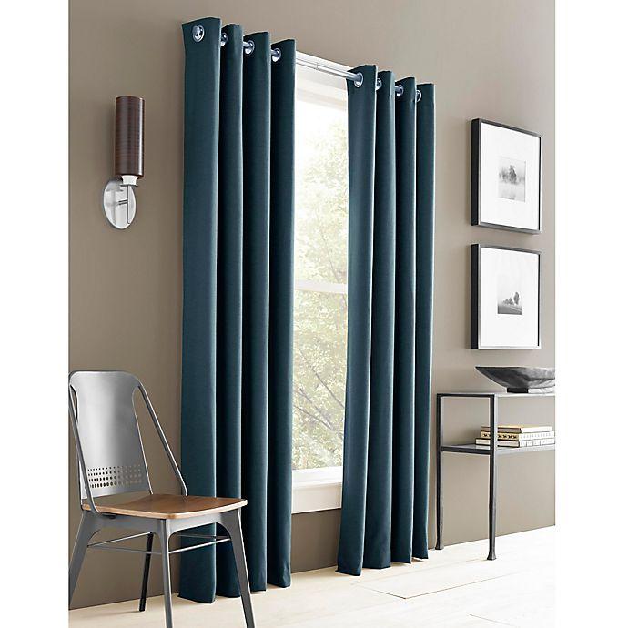 Alternate image 1 for J. Queen New York™ Adorn Grommet Top Window Curtain Panel