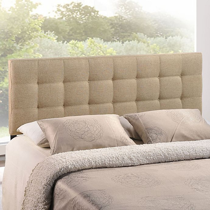 Modway Lilly Tufted Linen Headboard Bed Bath Amp Beyond