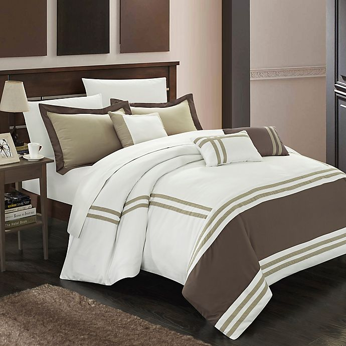 Alternate image 1 for Chic Home Annabel 10-Piece Comforter Set