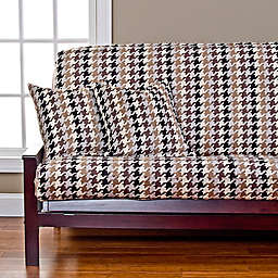SIScovers® Hound Dog Microfiber Futon Slipcover in Cream