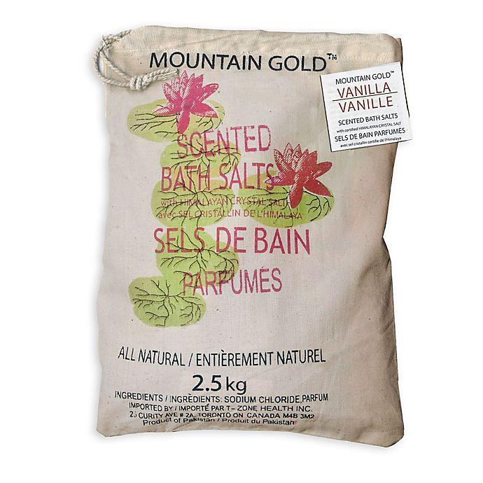 Alternate image 1 for Mountain Gold™ 5.5 lb. Himalayan Bath Salts in Vanilla