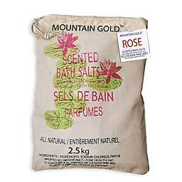 Mountain Gold™ 5.5 lb. Himalayan Bath Salts in Rose