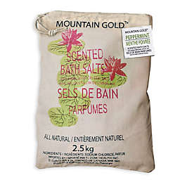 Mountain Gold™ 5.5 lb. Himalayan Bath Salts in Peppermint