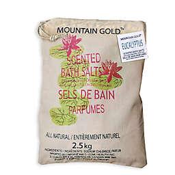 Mountain Gold™ 5.5 lb. Himalayan Bath Salts in Eucalyptus