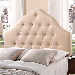 Modway Sovereign Full Fabric Headboard in Beige