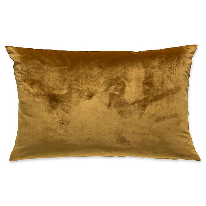 Alternate image 1 for Frette At Home Realmonte Standard Pillow Sham in Gold
