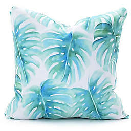 Deny Designs Paradise Palms 18-Inch Square Throw Pillow in Green