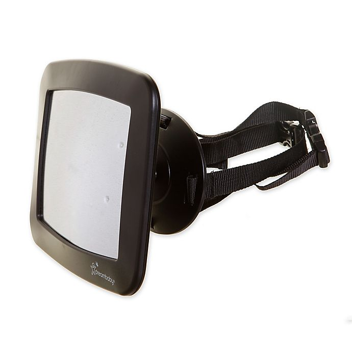 Alternate image 1 for Dreambaby® Adjustable Backseat Mirror in Black