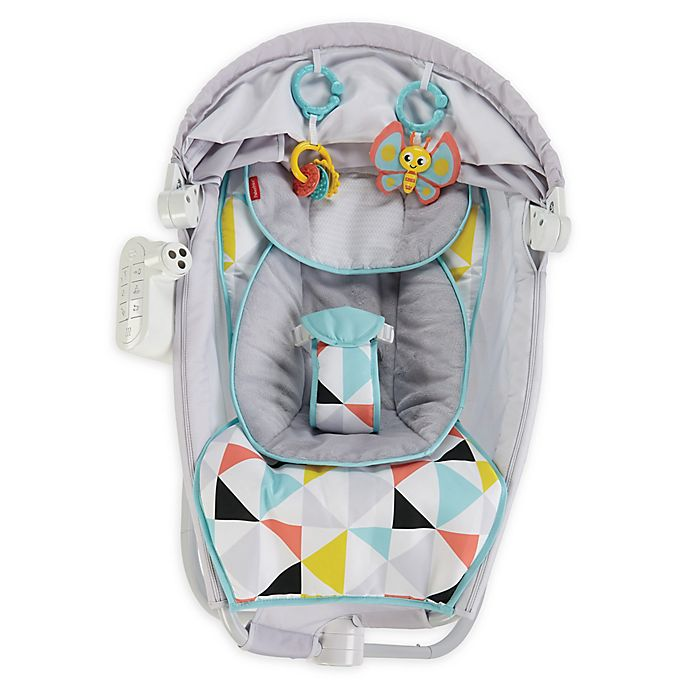Alternate image 1 for Fisher-Price® Premium Auto Rock n' Play Sleeper with SmartConnect™ Technology