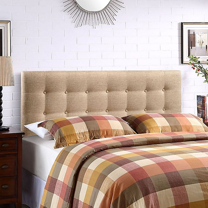Alternate image 1 for Modway Emily Queen Headboard in Beige