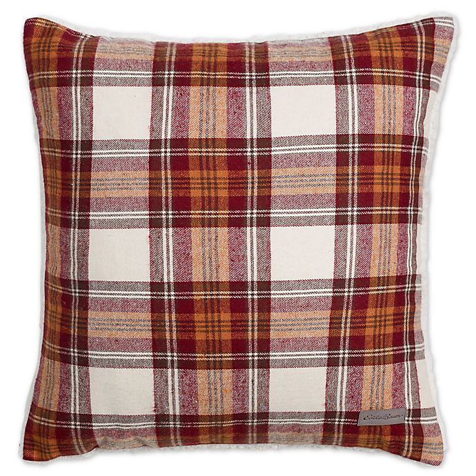 Alternate image 1 for Eddie Bauer® Edgewood 20-Inch x 20-Inch Plaid Throw Pillow