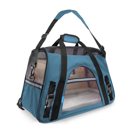 Oxgord Soft Sided Dog Cat Carrier In Black Bed Bath Amp Beyond