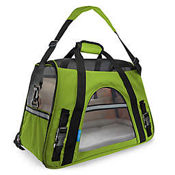 OxGord Small Soft Sided Dog/Cat Carrier in Green