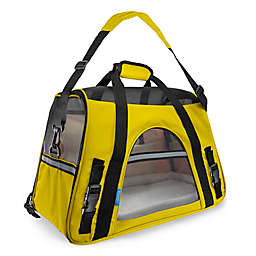 OxGord Large Soft Sided Dog/Cat Carrier in Yellow