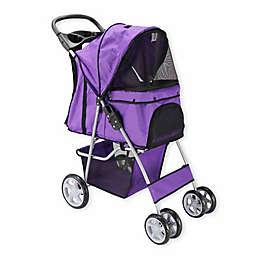 OxGord® Pet Stroller in Purple