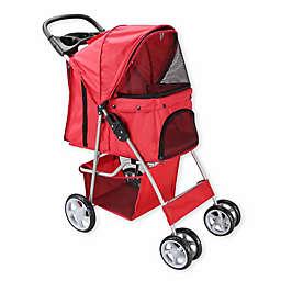 OxGord® Pet Stroller in Red
