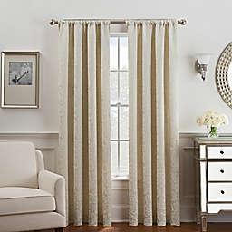 Serena Rod Pocket/Back Tab Window Curtain Panel (Single)