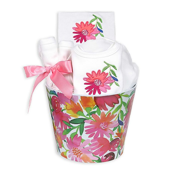 Alternate image 1 for Raindrops Blooming Flowers 8-Piece Pink Daisy Gift Set
