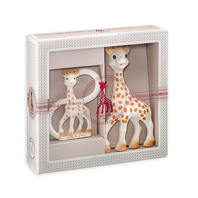 Alternate image 1 for Sophie la Girafe® and So'Pure Teether Gift Set