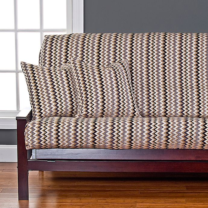 Alternate image 1 for SIScovers® Spellbound Futon Slipcover in Gold