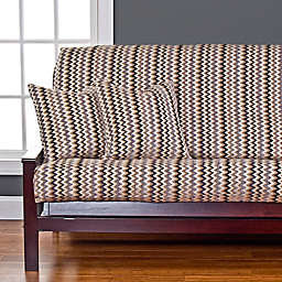 SIScovers® Spellbound Queen Futon Slipcover in Gold
