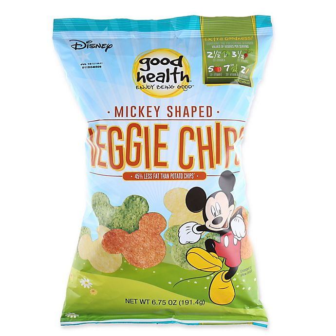 Alternate image 1 for Good Health® 6.75 oz. Mickey Mouse Veggie Chips