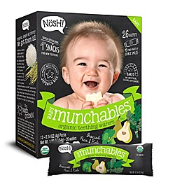 Nosh™ Baby Munchables™ 13-Packs of 2 1.9 oz. Broccoli Pear & Kale Organic Teething Wafers