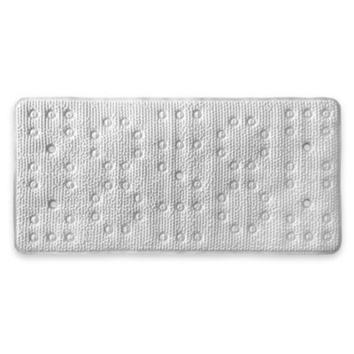 Deluxe Softee Bath Mat in White   Bed Bath and Beyond Canada