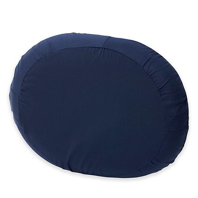 Alternate image 1 for 18-Inch Molded Foam Ring Donut Cushion in Navy