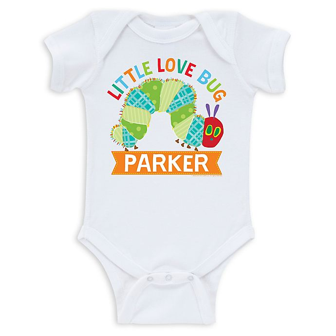 Alternate image 1 for Very Hungry Caterpillar Infant Bodysuit in White
