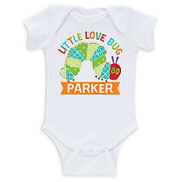 Very Hungry Caterpillar Infant Bodysuit in White