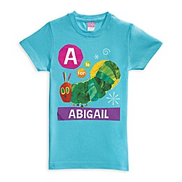 Very Hungry Caterpillar Alphabet Shirt in Blue