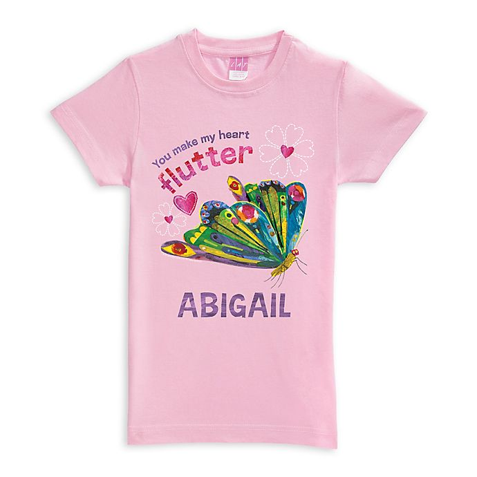 Alternate image 1 for Very Hungry Caterpillar Butterfly Shirt in Pink