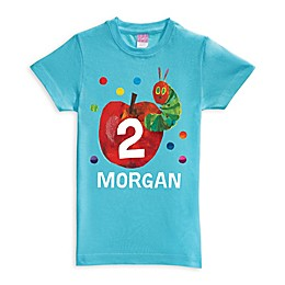 Very Hungry Caterpillar Birthday Shirt in Blue