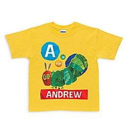 Very Hungry Caterpillar Alphabet Shirt in Yellow